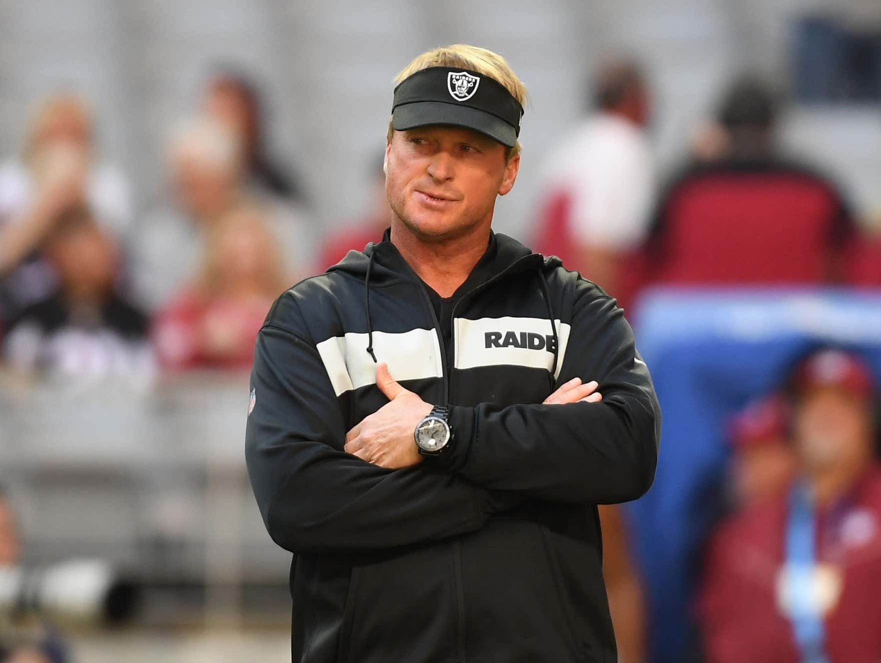 Jon Gruden Tried to Send a Message to the Raiders by Tricking Them Into Thinking He Had COVID