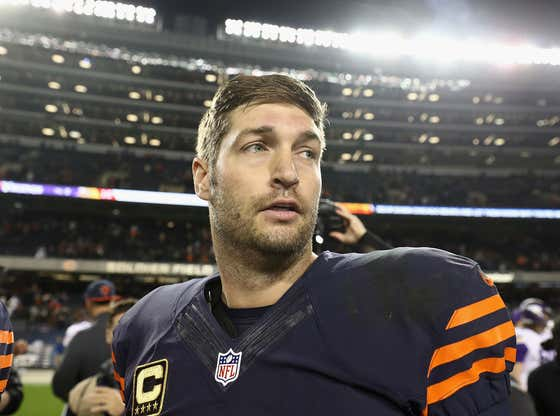There's Arguably No Sweeter Sound In Sports Than A Freshly Mic'd Up Jay Cutler