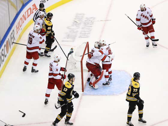 Well, Fuck. B's Lose 3-2, Canes Tie Series 1-1