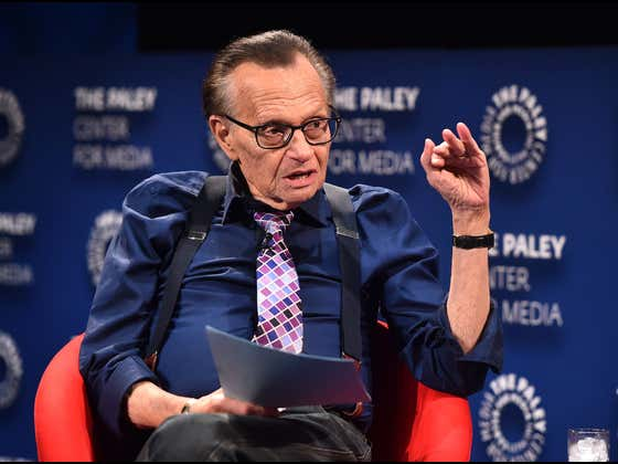 Larry King Demanded To Be Frozen Like Ted Williams