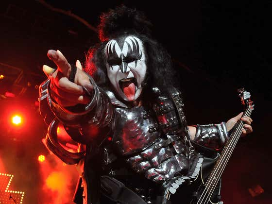 Would You Dress Up As Gene Simmons?