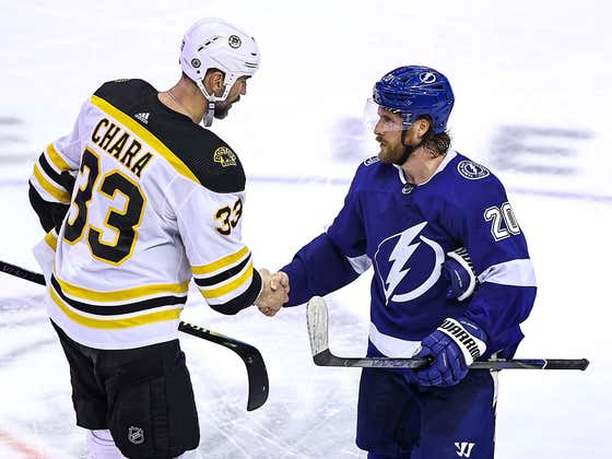 Zdeno Chara Says He Hasn't Made Any Decisions Yet On Next Year.. But If This Is It, It Was One Hell Of A Career
