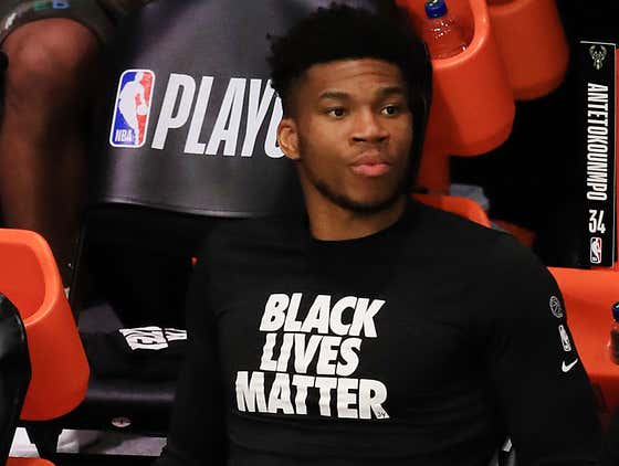 Giannis Already Going To The Excuse Of Not Having A Home Court Advantage Is Sad To See