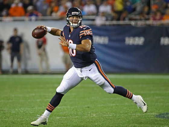 The Mitch Trubisky Era In Chicago Is Officially Over