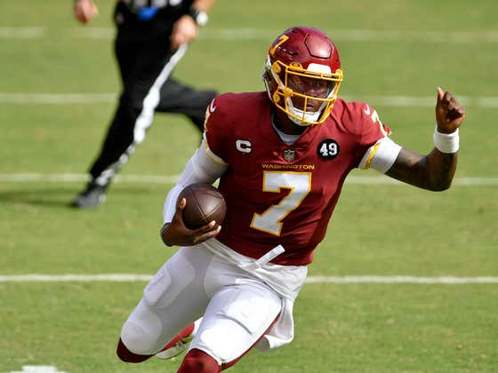 Our Friend Dwayne Haskins Is Now The Quarterback For The Pittsburgh Steelers