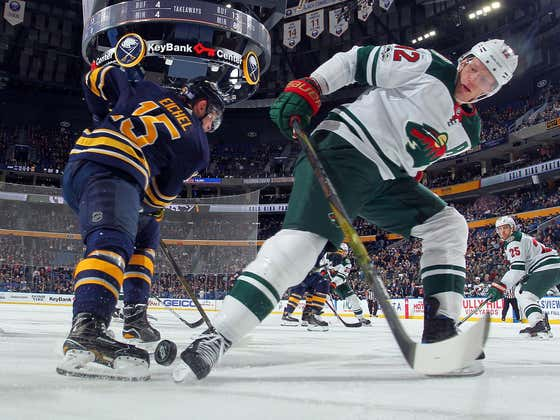 Jack Eichel Is Going To Kick So Much Ass Now That He Has Eric Staal In His Locker Room