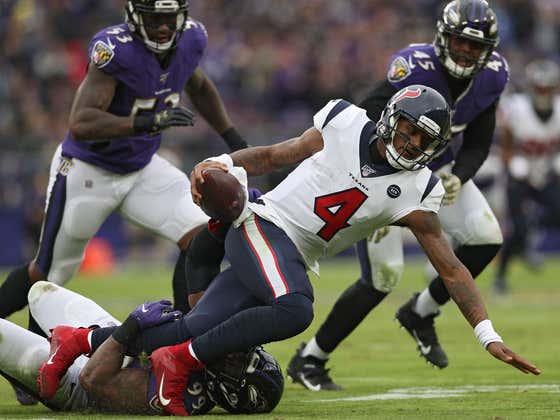 The Ravens Travel To Houston Today To Take On Deshaun Watson and The Houston Texans