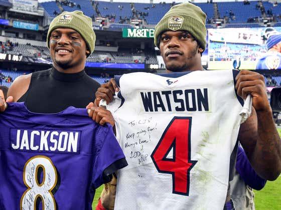 "Ravens-Texans ""Lamar Jackson vs. Deshaun Watson Part II"" Live Blog"