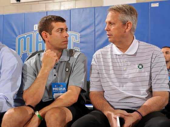 Danny Ainge Finally Spilled The Beans On The Top Secret Brad Stevens Contract Extension
