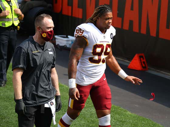 """We Can Breathe, I Think: Chase Young's MRI Came Back """"Better Than Expected"""""""