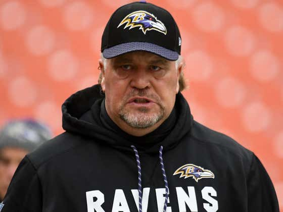 Ravens Coach Makes Hilarious 'Eagles Fans Throw Batteries' Joke Ahead Of Game