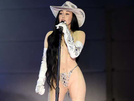 Noah Cyrus Wore A Sheer Bodysuit At The CMT Awards And Pissed Off All Sorts Of Country Music Fans