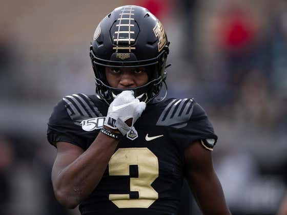 Purdue's David Bell Named Big Ten Co-Offensive Player of The Week After Completely Shredding Iowa