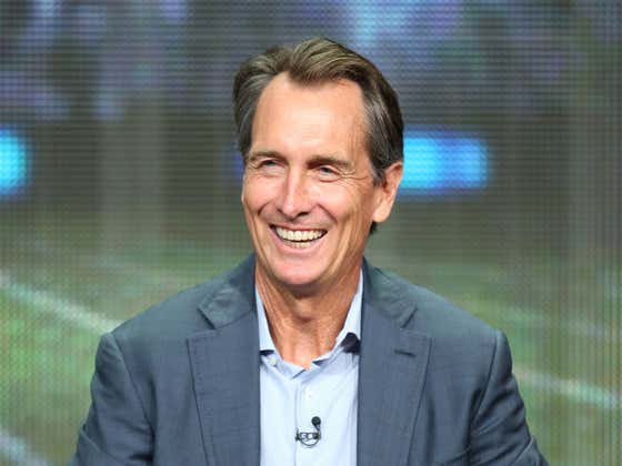 Cris Collinsworth Orders From Starbucks