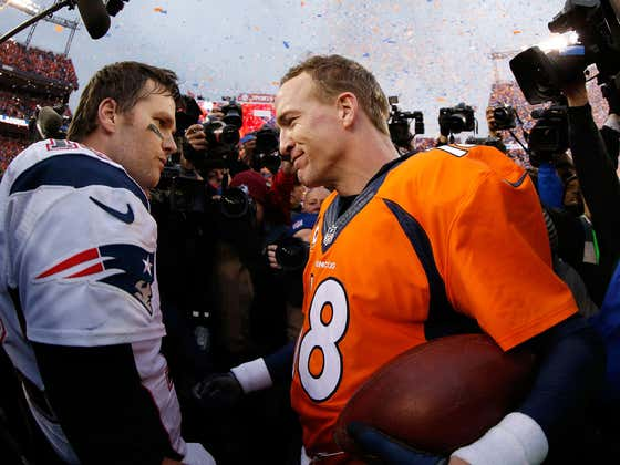 Don't Look Now But Bitter Peyton Manning Is Knocking Tom Brady Once Again