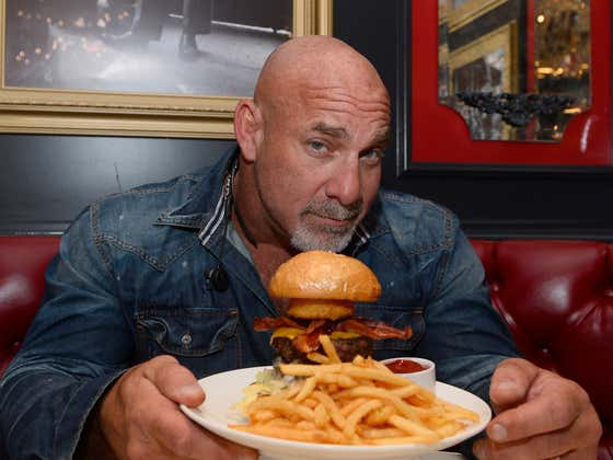 Bill Goldberg Comes on Pardon My Take to Discuss the Rumors on Whether or Not He's a Vegetarian
