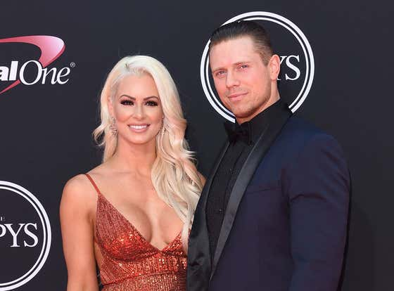 True Love Exists: The Miz And His Wife Maryse's First Date Was At A Sex Shop Looking At Sex Swings And Ball Gags
