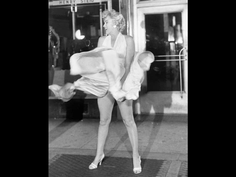 CONFIRMED: Marilyn Monroe Used To Bleach Down Under So That Her Carpet Matched The Drapes