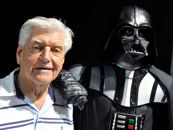 RIP David Prowse - The Man In The Darth Vader Suit Throughout The Original Star Wars Trilogy Has Died At 85