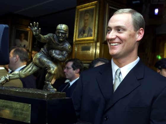 On This Date in Sports December 11, 2000: The Oldest Heisman