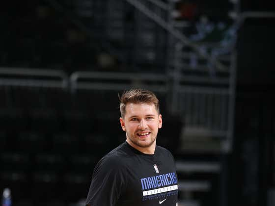 Luka Doncic Wants Everyone To Know He's Totally Not Fat, He's Just Not A Muscular Guy