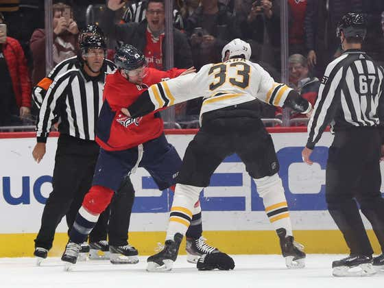 Zdeno Chara And Stanley Cup Champion Tom Wilson On The Same Side...Oh My