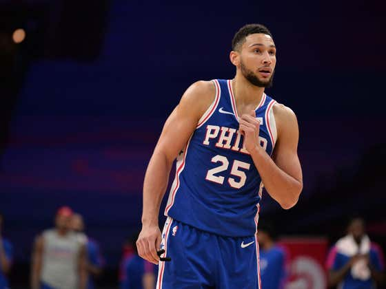 2020 Has Finally Been Beaten Thanks To Ben Simmons Stepping Up And Drilling A 3