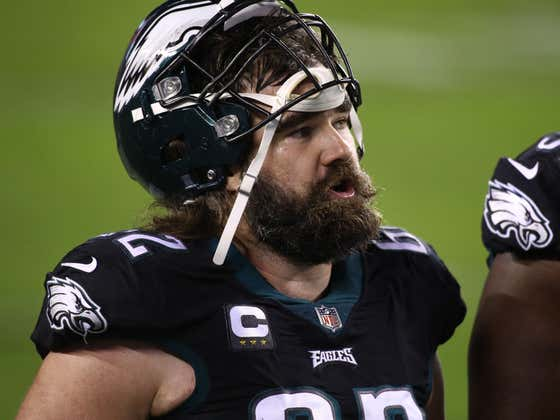 Jason Kelce Says There Was No Confrontation On The Eagles Sideline, So Everybody Can Promptly Shut Up