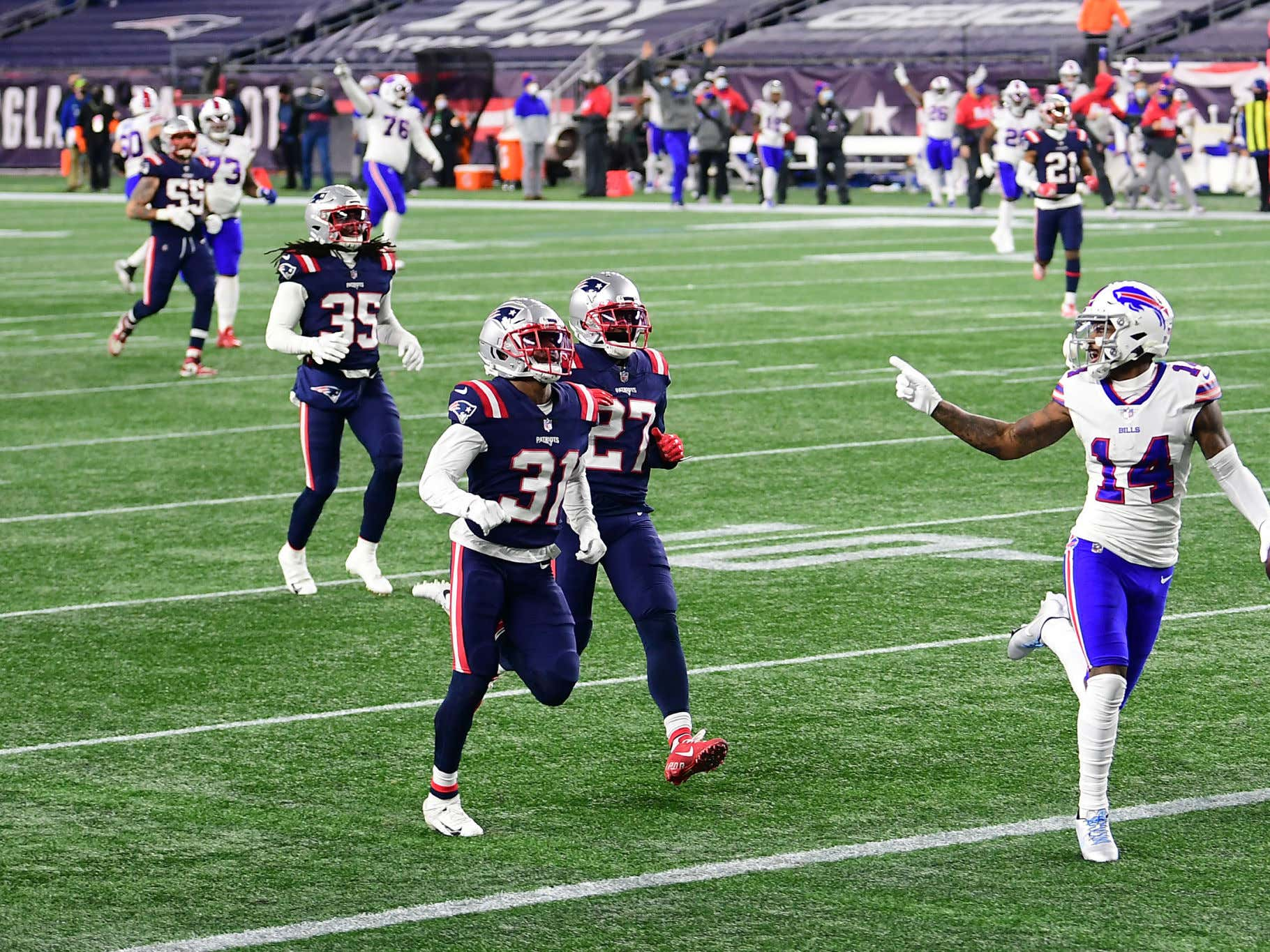 Report: The Patriots Were Offered a Chance to Trade for Stefon Diggs and Turned it Down