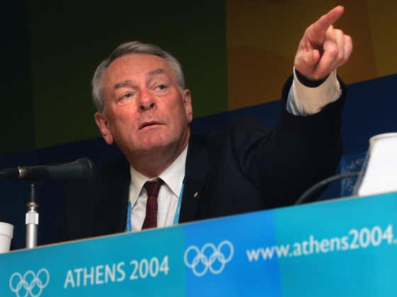 Dick Pound Sounds Like He's Getting Ready To Bend Over The Tokyo Olympics Again