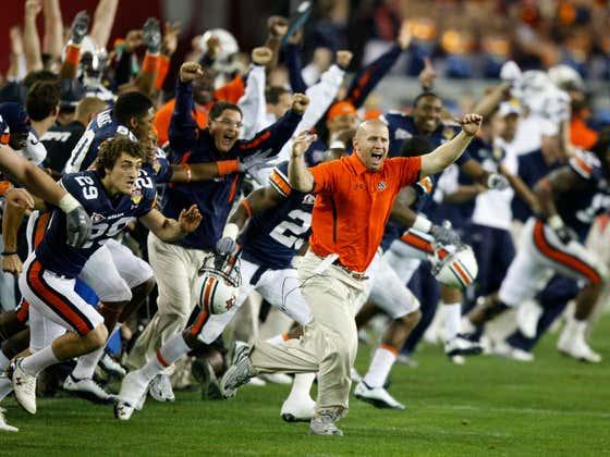 On This Date in Sports January 10, 2011: Auburn is #1