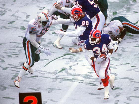 On This Date in Sports January 12, 1991: Division Duel in the Snow