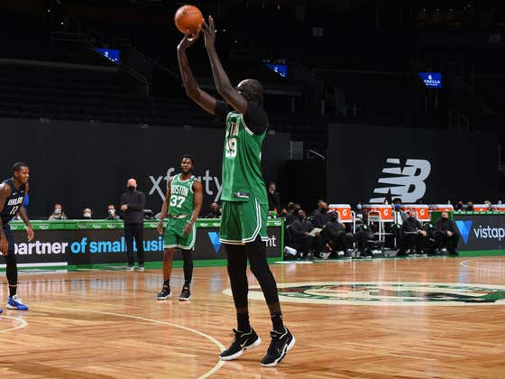 Tacko Fall Is Now Officially A Long Lost Splash Brother