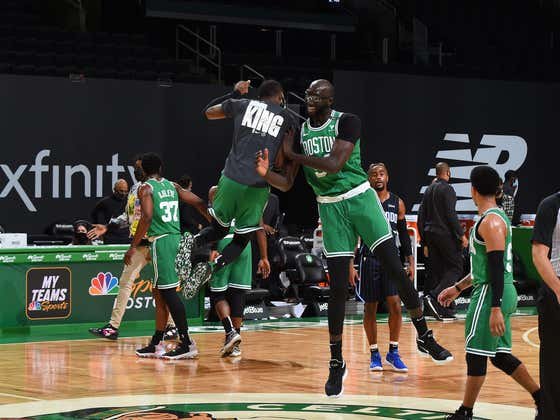 After A Week Off, Your First Place Boston Celtics Beat The Absolute Piss Out Of The Magic
