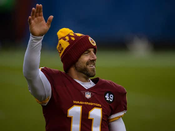 The Washington Football Team And Alex Smith Will Be Parting Ways