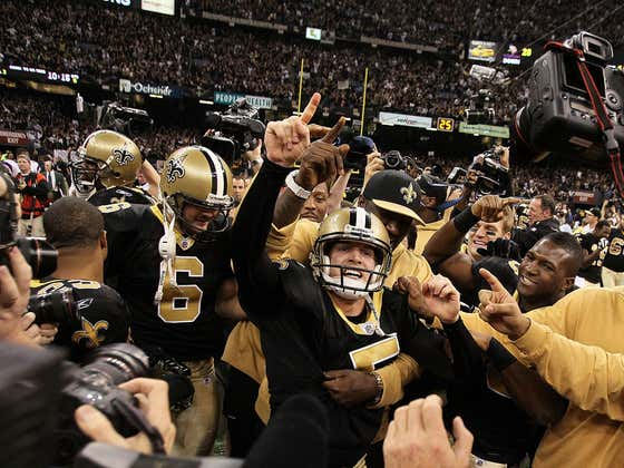 On This Date in January 24, 2010: Saints in the Super Bowl
