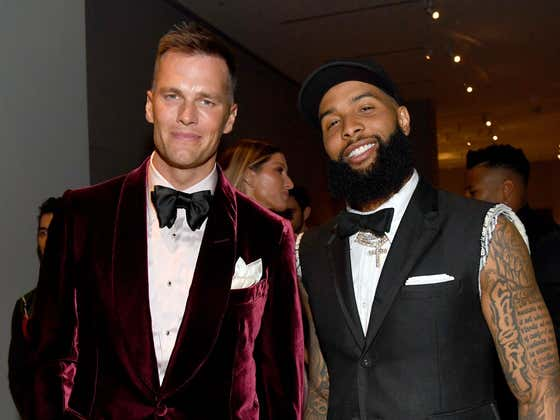 Reports Say Tom Brady is Trying to Get OBJ to Tampa and is About to Add 3 Years to His Contract