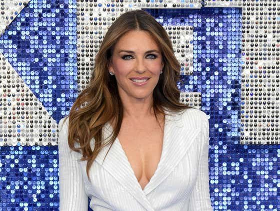 55-Year-Old Elizabeth Hurley Goes Viral For Posting Topless Photos Of Herself In A Fur Coat On Instagram