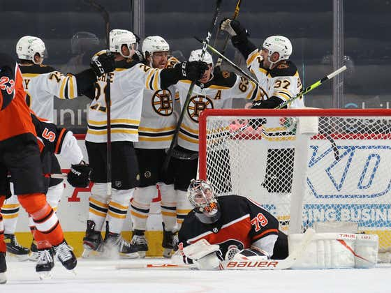There Is No God Damn Quit In The Boston Bruins - Down 2 Pasta Caps Off The Hatty To Tie, Bergeron With The OT Winner.. BANG