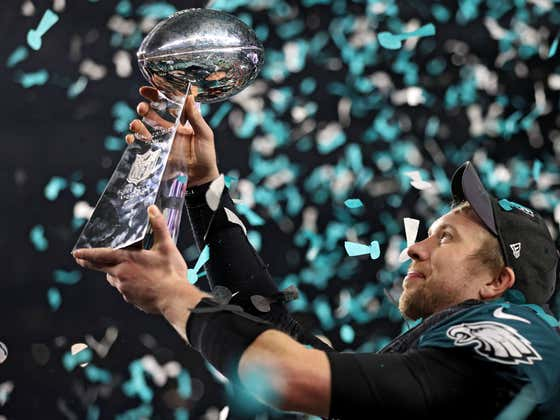 Nick Foles Says He's Better Now Than He Was During The Super Bowl. You Know What That Means...