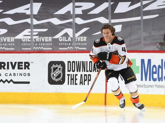 Advanced Analytics: Trevor Zegras Had The Sauciest Hot Lap Ever In His NHL Debut Last Night