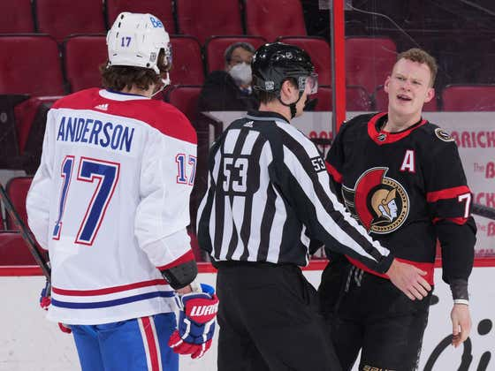 In The Span Of A Month, Both Tkachuk Brothers Dropped The Mitts And Fought Ben Chiarot