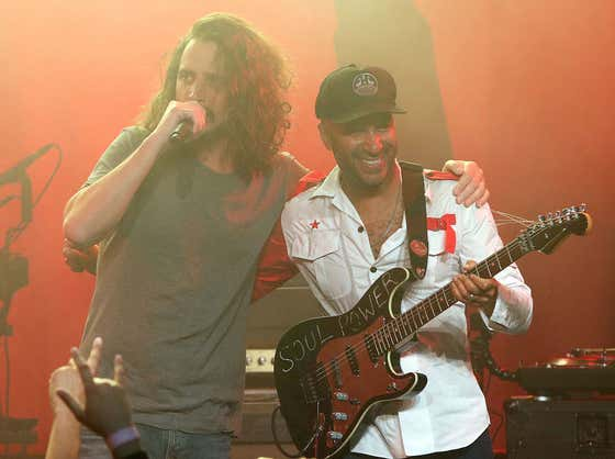 Tom Morello Tells Howard Stern Hilarious Story About Meeting Chris Cornell For The First Time