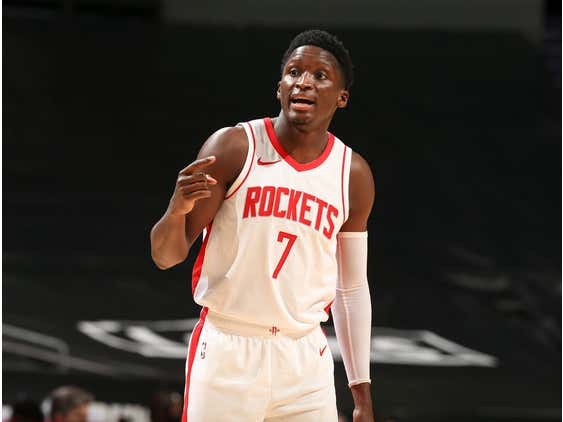 The Houston Rockets Have A Tough Decision To Make With Victor Oladipo