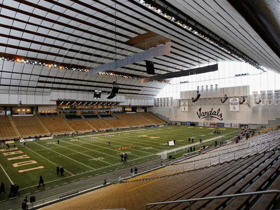 Just A Reminder That Idaho's Kibbie Dome Is One Of The Best Stadiums In College Football