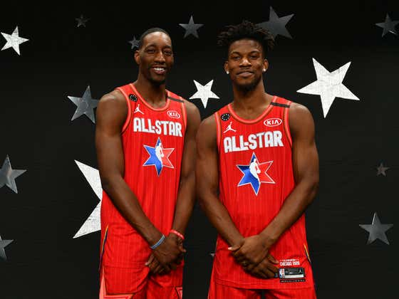 It Turns Out The Story Of Jimmy Butler Rejecting An All Star Spot In Support Of Bam Adebayo Was All A Lie