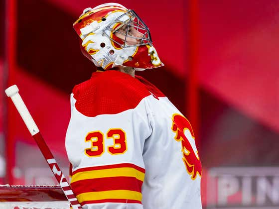 Was This Calgary Flames Warm Up The Drunkest Hockey Warm Up Of All Time?