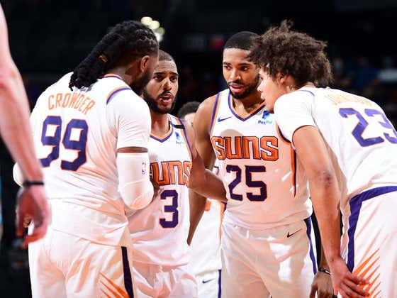 Dating Back To The Bubble, The NBA's Best Team Has Been....The Phoenix Suns