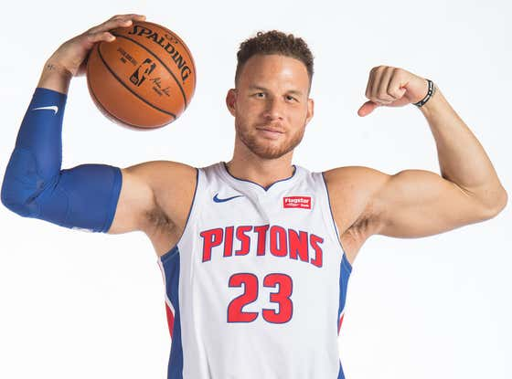 The Blake Griffin Sweepstakes Are Officially Underway