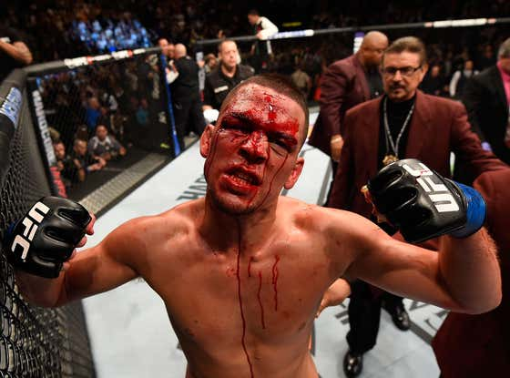 """Nate Diaz Goes Off On """"Spoiled Little Bitch"""" Conor McGregor On The Five Year Anniversary Of Defeating Him"""